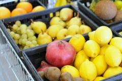melograno uva arance limoni da coltivazione biologica