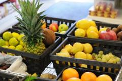 frutta da agricoltura biologica