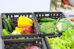 verdura fresca selezionata